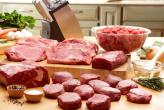 Grass fed meats